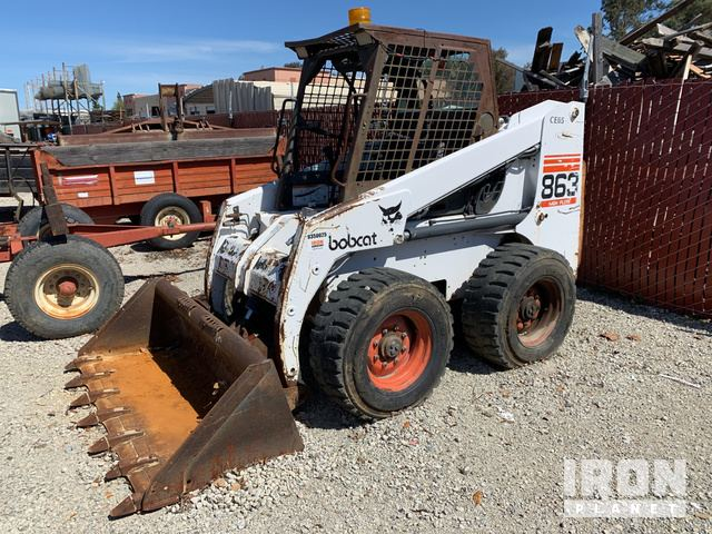 Bobcat 863 Skid-Steer Loader in Livermore, California, United States