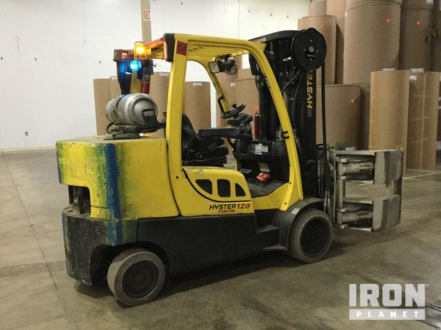 2012 Hyster S120FTPRS Cushion Tire Forklift in New Lenox, Illinois