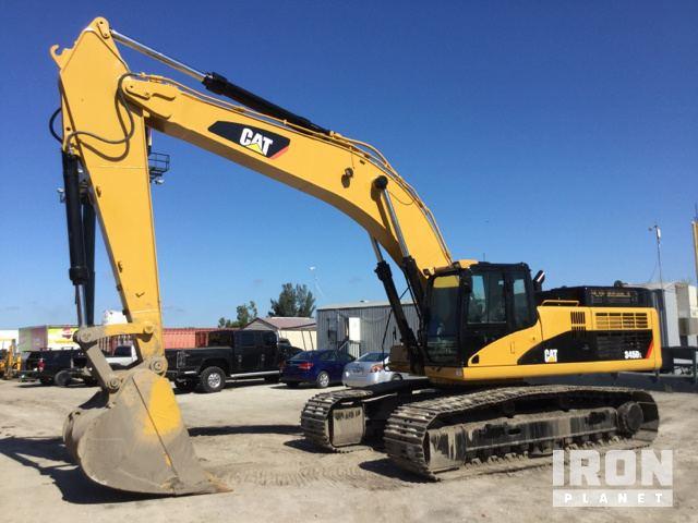 Caterpillar 345D L Hydraulic Excavator Specs & Dimensions
