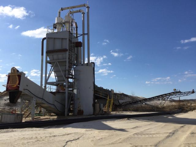 Frac Sand Wash Plant