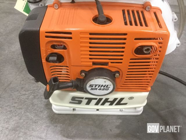 Surplus (13) Assorted Stihl & Solo Backpack Mist Blowers in