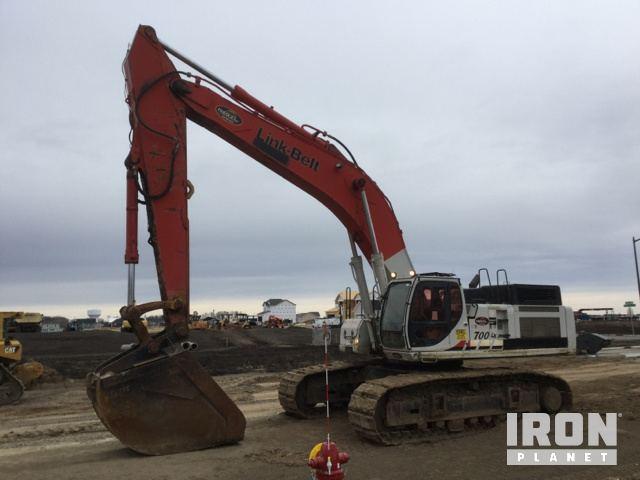 2008 Link-Belt 700LX Track Excavator, Hydraulic Excavator