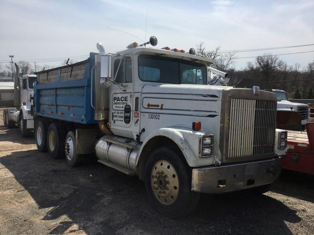 89de721fcc 1987 International 9370 Tri A Dump Truck