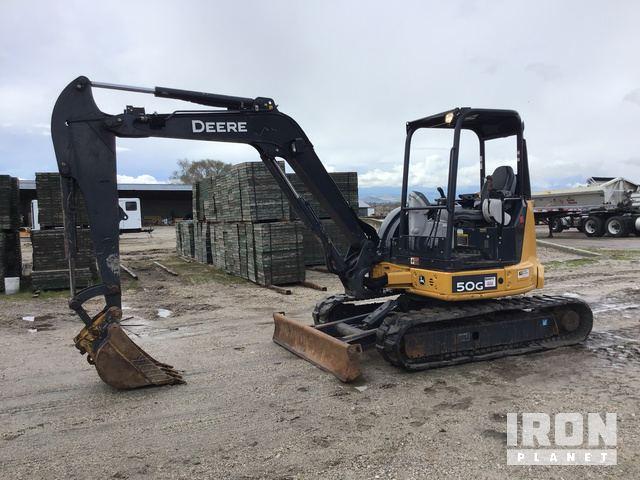 2014 John Deere 50G Mini Excavator in Brigham City, Utah