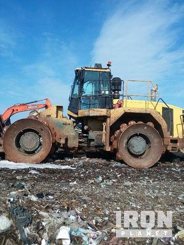 Cat 826G Landfill Compactor in Norridgewock, Maine, United