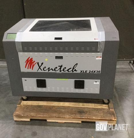Surplus Xenetech XLE 24X36 Engraving Machine in Chambersburg