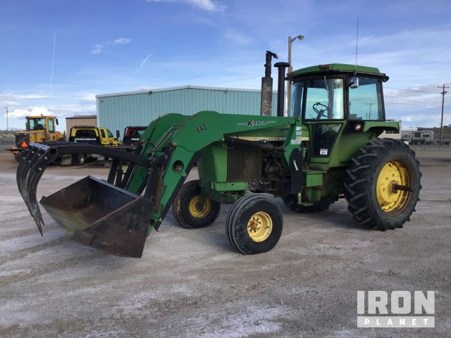 John Deere 4630 2WD Tractor in Rawlins, Wyoming, United States