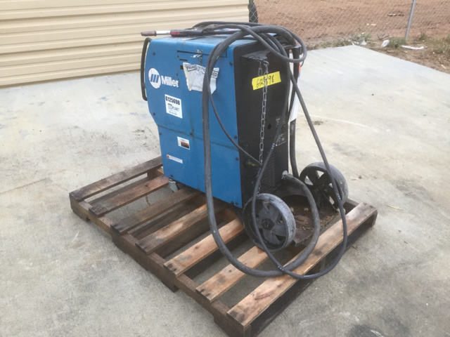 Used Welders For Sale >> Miller Electric Welder For Sale Ironplanet