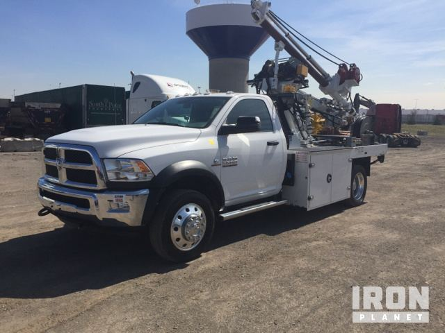 Timberland CP2000 Champion Cable Placer on 2016 Dodge Ram