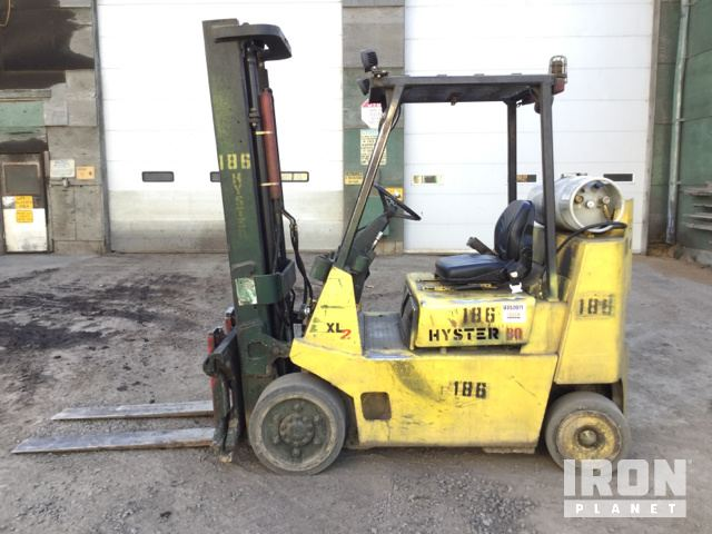 Hyster S80XL2BC Cushion Tire Forklift in St  Maries, Idaho, United
