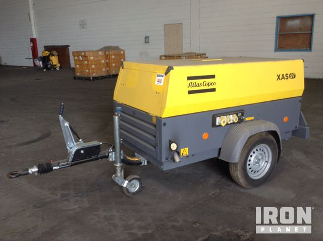 2016 Atlas Copco XAS97 Air Compressor in Tampa, Florida