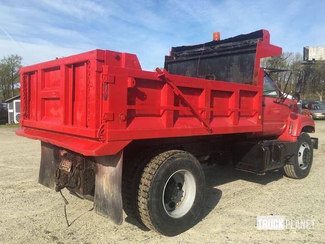 1998 GMC C7500 S/A Dump Truck in Newark, Delaware, United