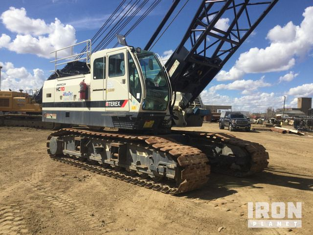 2014 Terex HC110 Lattice-Boom Crawler Crane in Nisku, Alberta