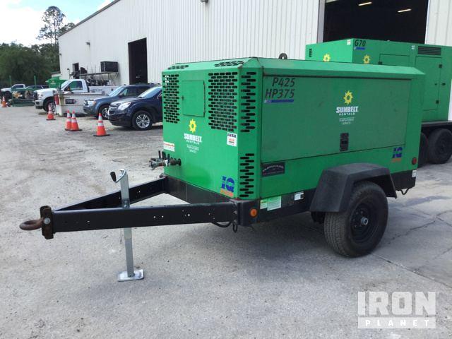 2015 Doosan P425/HP375WCU-T4I Air Compressor: 185-400cfm in