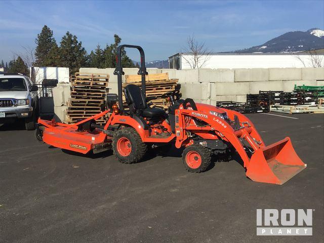 2018 Kubota BX2380 4WD Utility Tractor in Hood River, Oregon