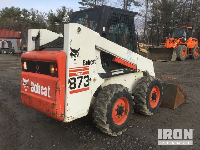 Bobcat 863 Skid-Steer Loader in Plattsburgh, New York