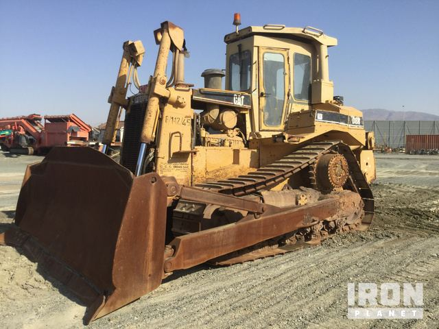 1996 Cat D8R Crawler Dozer, Crawler Tractor