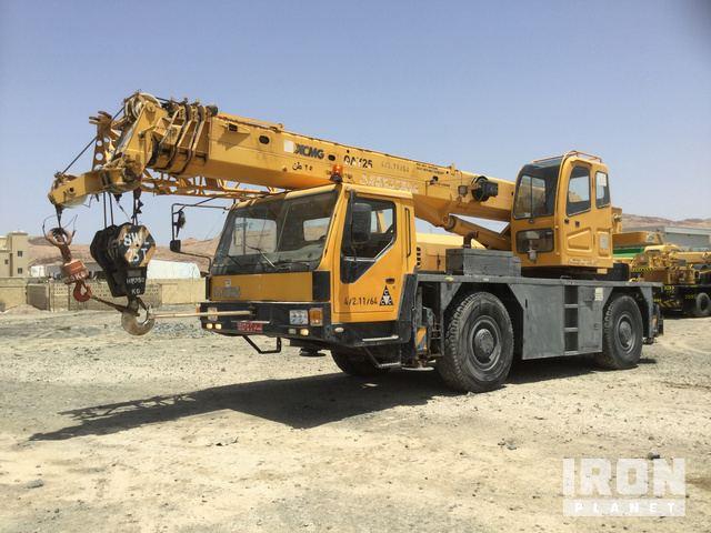 2007 XCMG QAY25 All Terrain Crane in Al Jafnayan, Oman