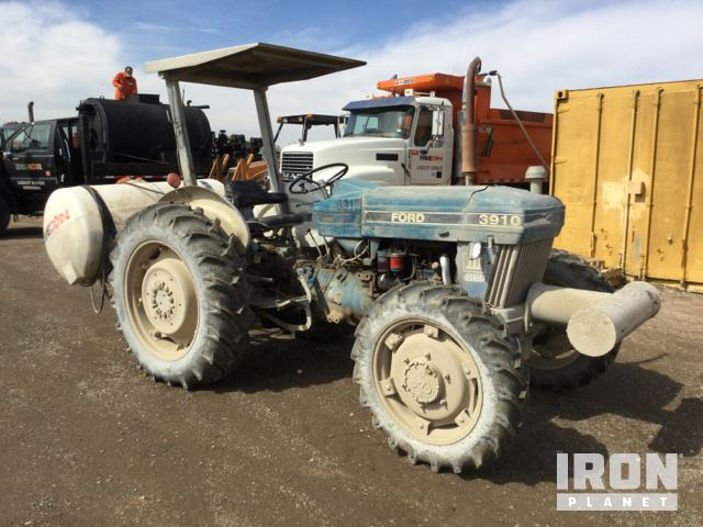 1989 Unverified Ford 3910 Series Iii 4wd Tractor In Grand