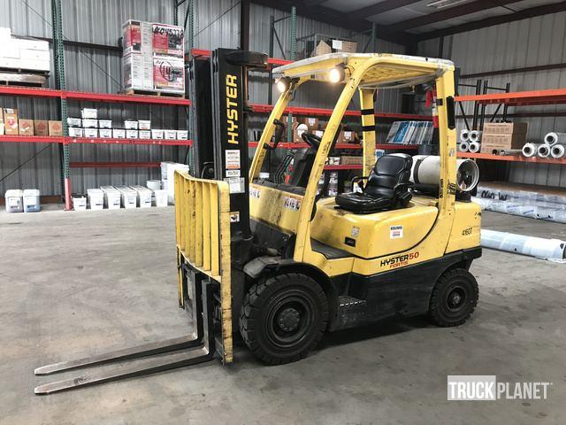 Hyster H50FT Pneumatic Tire Forklift In Portland Oregon