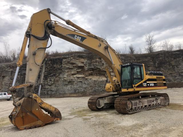 Cat 345B L Track Excavator