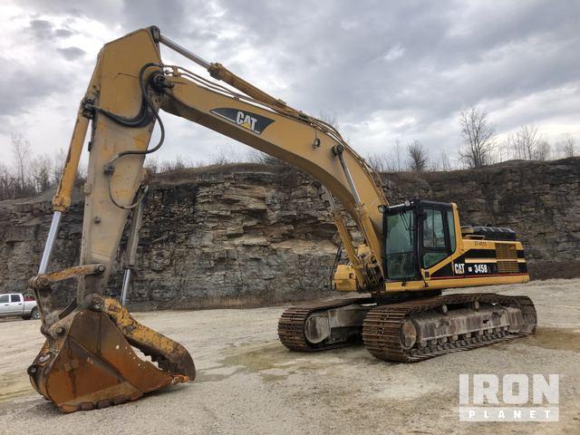 Caterpillar 320C L Hydraulic Excavator Specs & Dimensions