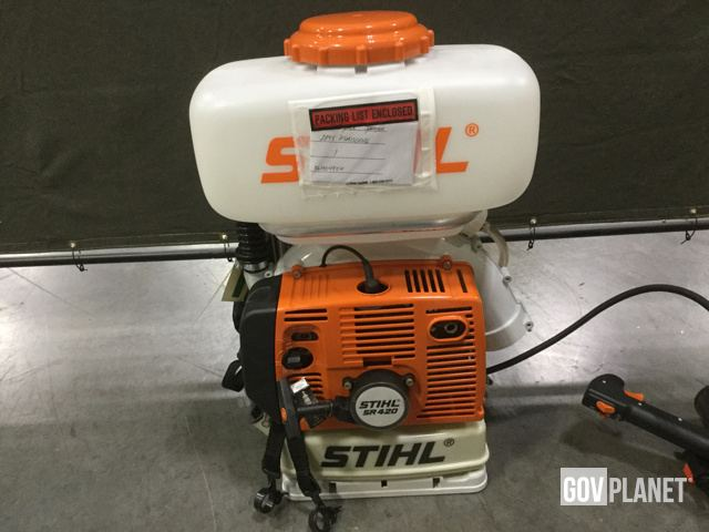 Surplus Lot of (14) Stihl SR420 Mist Blowers in Chambersburg