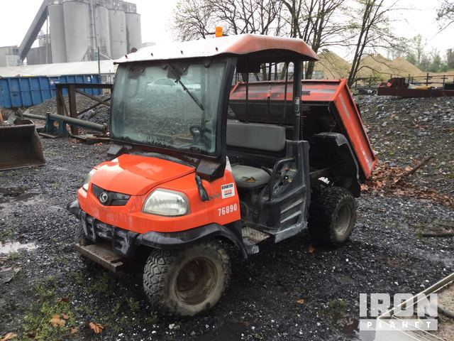 Kubota RTV900 4x4 Utility Vehicle in Fleetwood, Pennsylvania