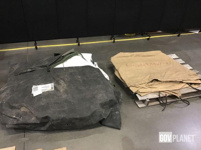 Surplus Modular Command Post System Tent & Tarpaulin in