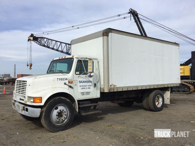 1996 International 4700 Cargo Truck in Carteret, New Jersey, United