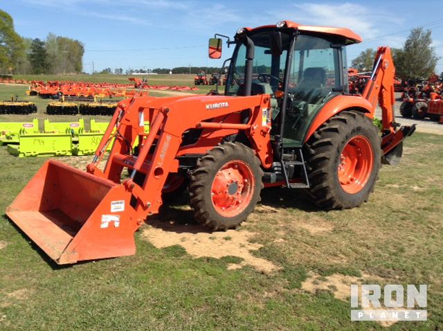Kubota M7060D 4WD Tractor in Brookhaven, Mississippi, United States
