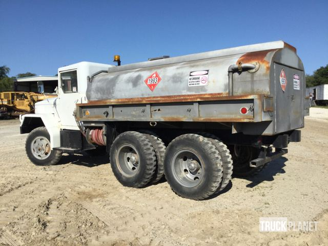 1986 Kaiser M35A2 T/A Fuel Truck in Zephyrhills, Florida, United