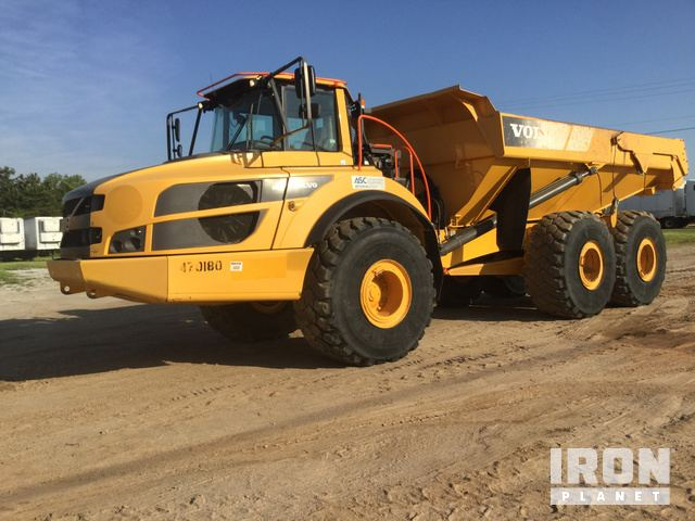2015 Volvo A40G Articulated Dump Truck in Piedmont, South