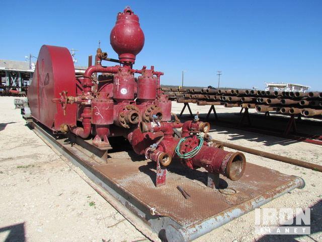 AXON DEMAY Triplex Pump w/Cast Steel Fluid End, … in