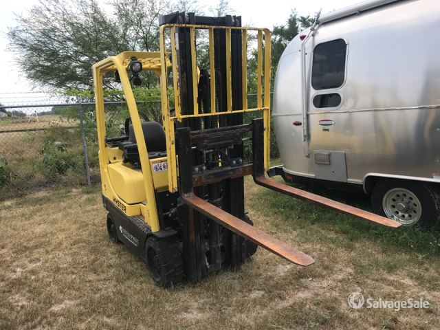 2007 (unverified) Hyster S35FT Cushion Tire Forklift in