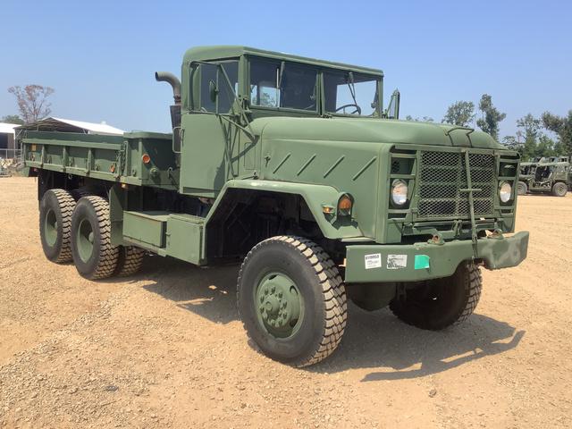 1984 AM General M923 5 Ton 6x6 Cargo Truck