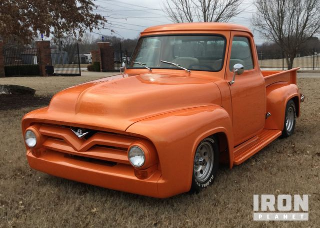 1955 Ford F100 Custom Pickup in Tulsa, Oklahoma, United