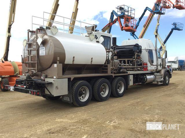2012 Western Star 4900SB Tri/A Hot Oil Truck