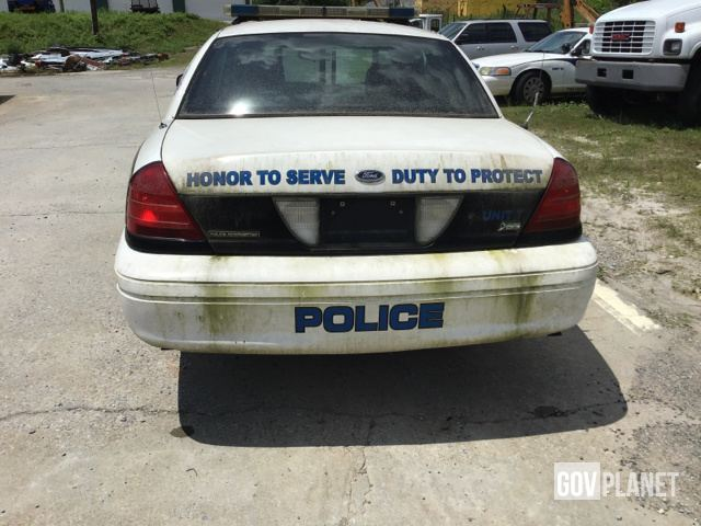Surplus 2010 Ford Crown Victoria in Austell, Georgia, United