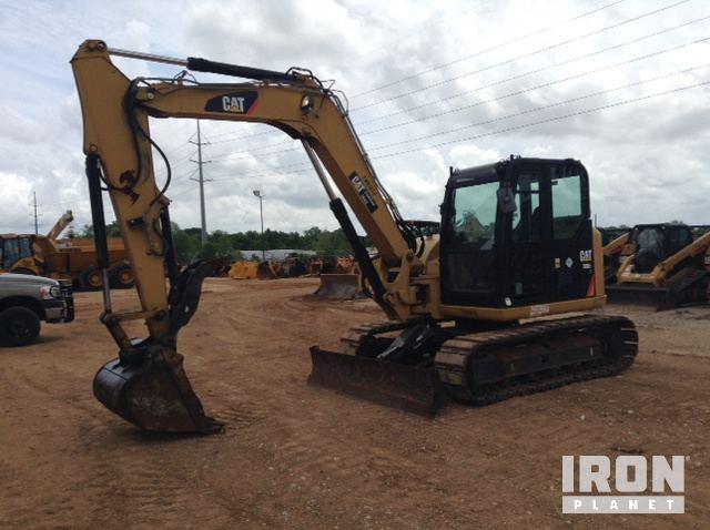 Caterpillar 308E2 CR Hydraulic Excavator Specs & Dimensions