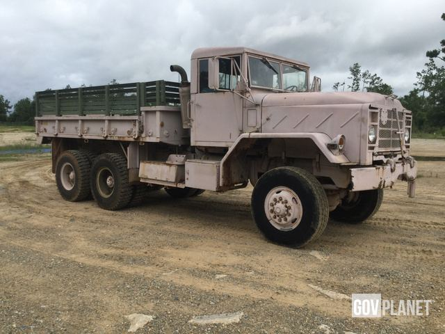 Surplus 1984 AM General M923 5 Ton 6x6 Cargo Truck in Albany ... on