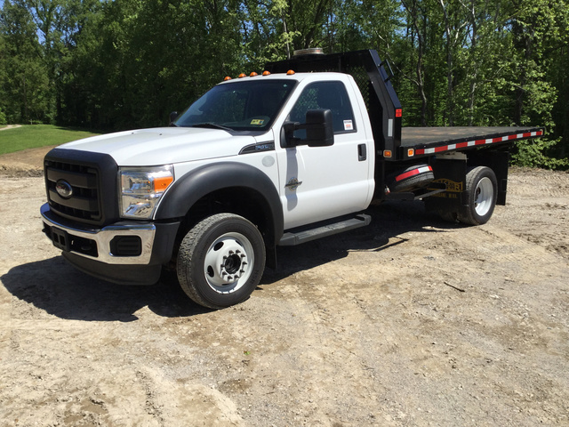 2012 Ford F-450 Super Duty 4x4 Flatbed