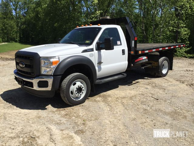 2012 Ford F-450 Super Duty 4x4 Flatbed Dump Truck