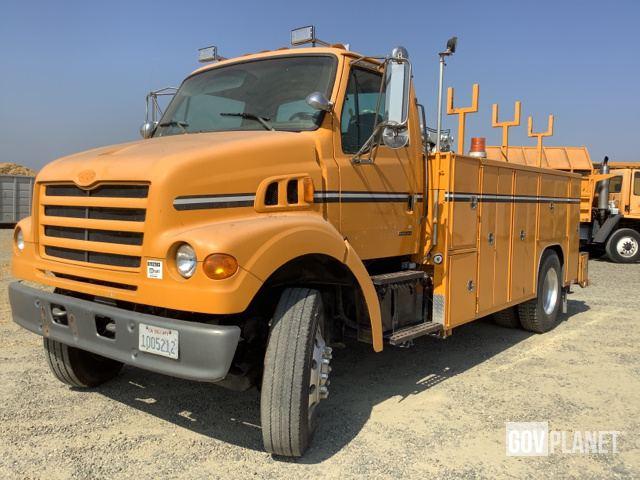 1999 Sterling L7501 4x2 Service Truck w/Crane in Merced