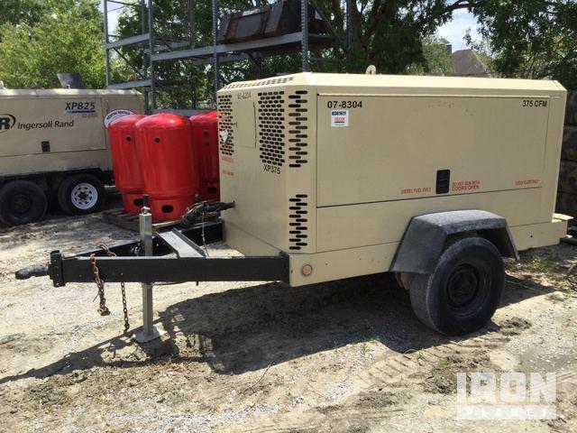 2007 Ingersoll-Rand XP375WCU 375 CFM Air Compressor in Houma