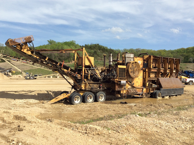 Allis Chalmers 75 105RT Portable Jaw