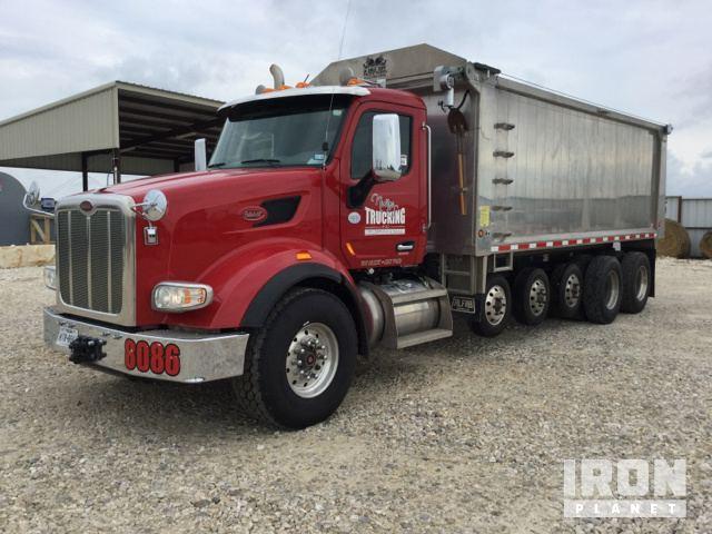 2015 (unverified) Peterbilt 567 Five Axle Dump Truck
