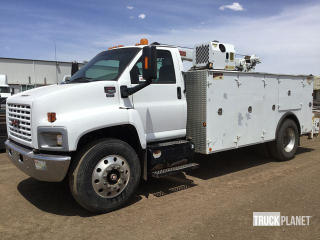 2004 GMC C7500 S A Service Truck W Crane In Phoenix