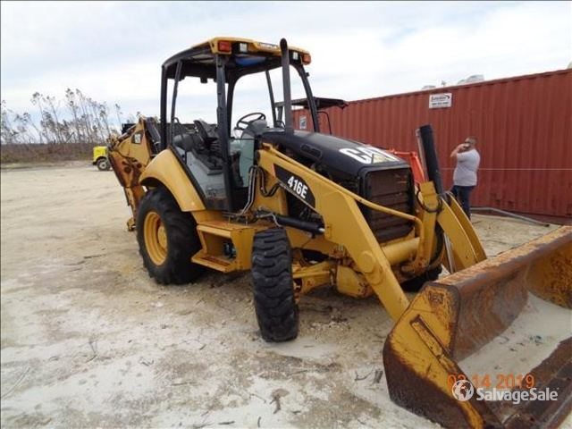 2011 Cat 416E 4x4 Backhoe Loader in Mexico Beach, Florida