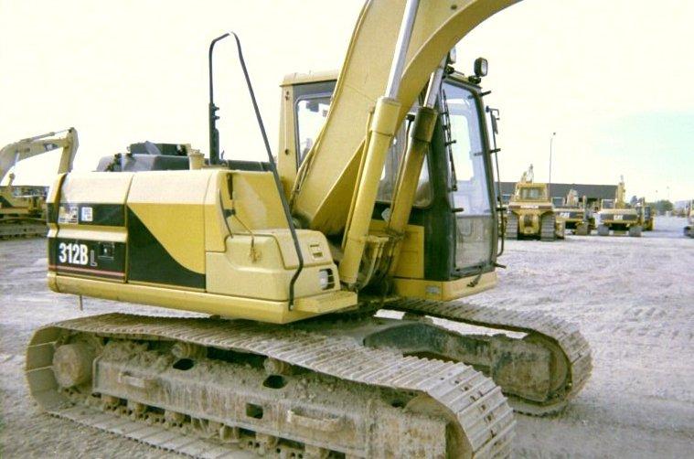 1998 Cat 312BL Track Excavator